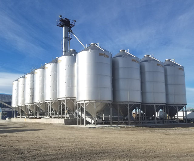 Stainless Steel Hopper Bins